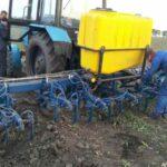 Модернизация сеялок и культиваторов для внесения жидких удобрений