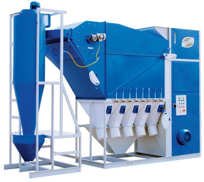 Зерноочистительное оборудование — сепараторы САД