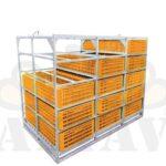 Ящики и контейнеры под ящики для перевозки живой птицы и цыплят